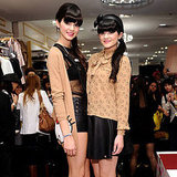 Kendall and Kylie Jenner at Hello Kitty Launch at Forever 21
