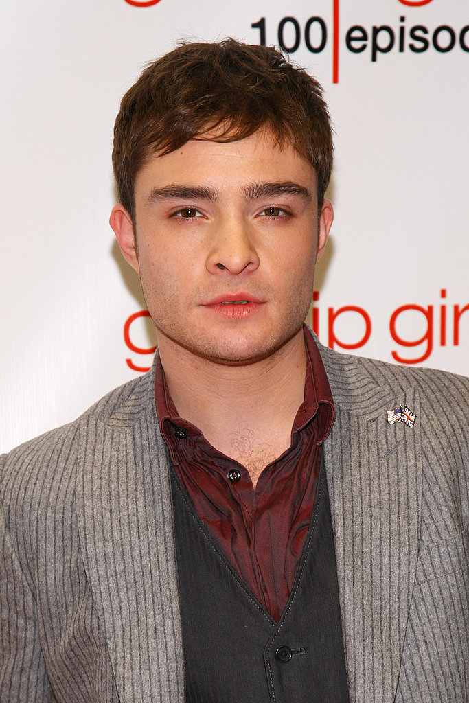 Ed Westwick in a vest.