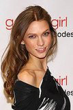 Karlie Kloss at a Gossip Girl party.