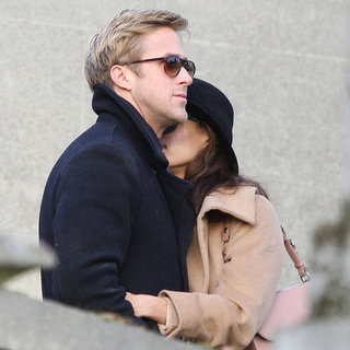 Ryan Gosling and Eva Mendes in Paris Pictures