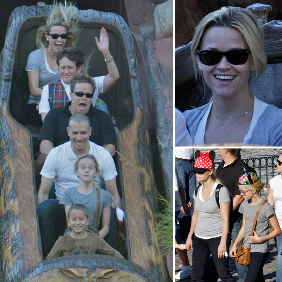 Reese and Jim Make a Splash With Ava and Deacon at Disneyland!