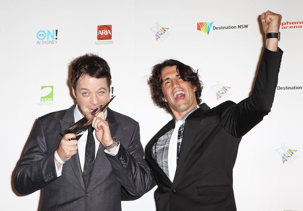 Hamish Blake and Andy Lee