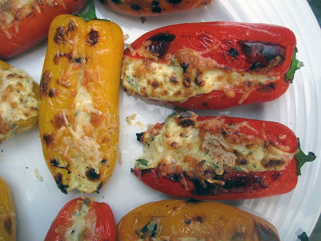 ... carnivore — to resist creamy, tart, and spicy feta-stuffed peppers