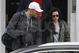 Kristen Stewart leaves her London apartment.