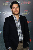 Adam Pally joined his Happy Endings costar Casey Wilson.