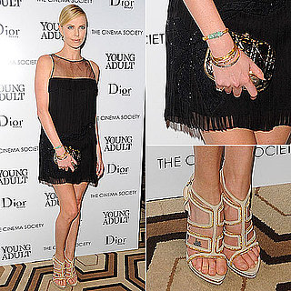 Charlize Theron in Christian Dior at Young Adult Screening