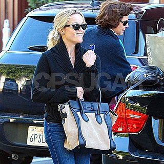 Reese Witherspoon Brentwood Country Mart Lunch Pictures