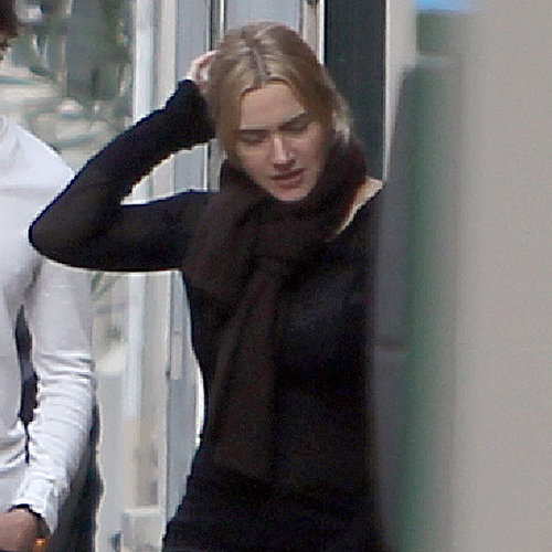 Kate Winslet Ned Rocknroll Paris Pictures With Mia and Joe