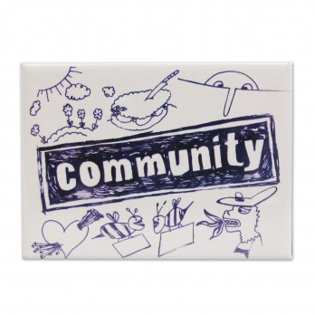 Community Logo Magnet - NBC Store