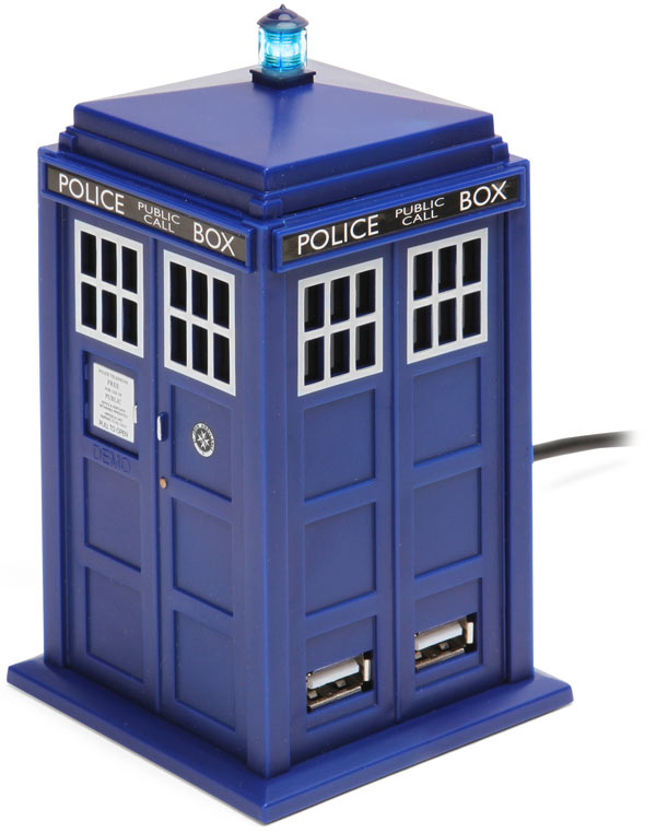 Doctor Who Tardis Four Port USB Hub ($30)