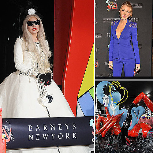 Lady Gaga's Workshop at Barneys 2011