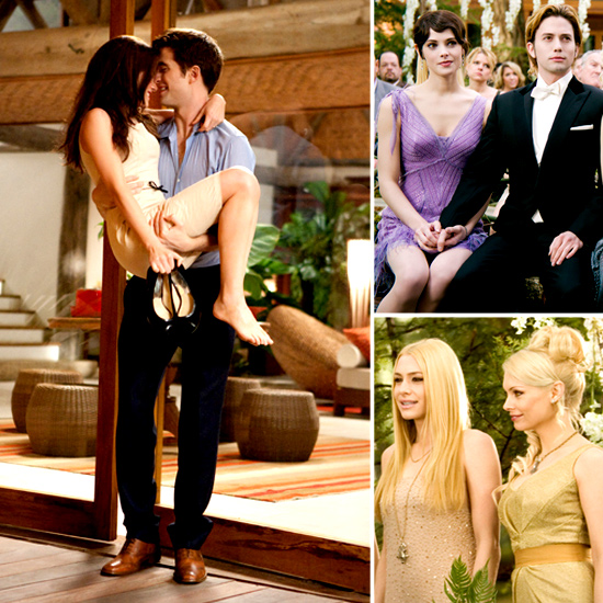 Steal the Style From Breaking Dawn's Wedding Scene