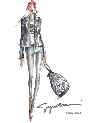 Rihanna Tries Her Hand at Designing For Armani — See the Collection!