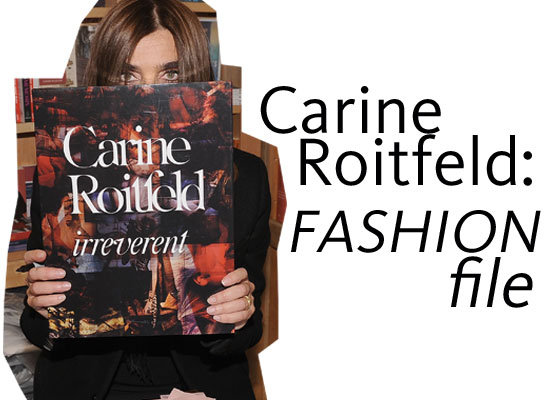 Carine Roitfeld Style Stalk: Carine Roitfeld on Wearing Her Daughter's Clothes, Smoking, Being Russian and more!