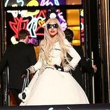Lady Gaga's Workshop at Barneys NY Party Nov. 22, 2011 (Pictures)