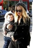 Rachel Zoe carried Skyler Berman on a shopping trip.