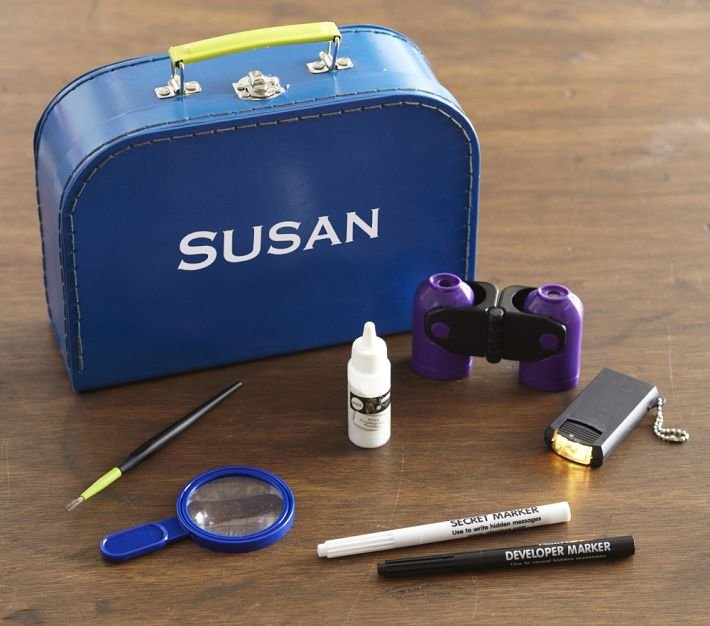 Personalized Spy Kit ($31)