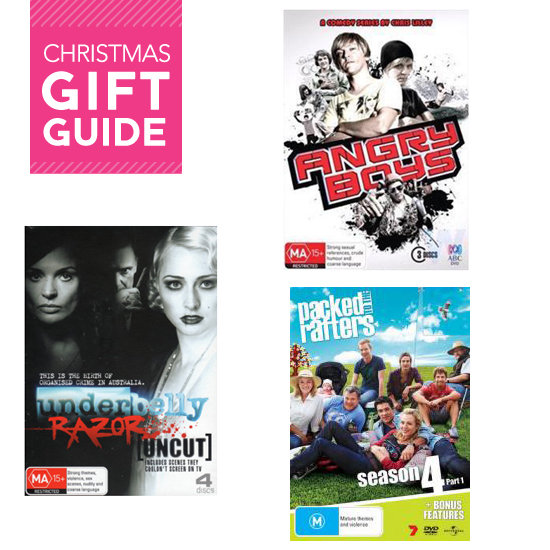 2011 Christmas Gift Guides: Aussie Series on DVD!
