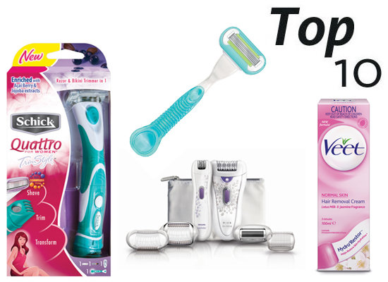 10 of the Best: Hair Removal Buys to Get Silky Smooth Skin