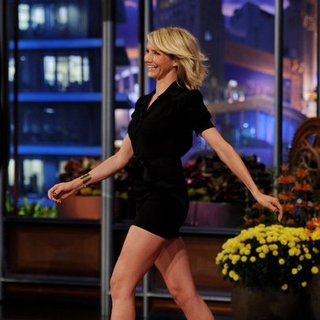 Cameron Diaz Short Dress Pictures on the Tonight Show