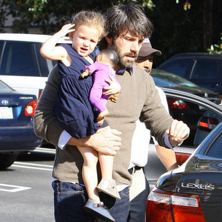 Jennifer Garner With Ben Affleck, Violet, and Seraphina Pictures