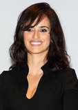 Penelope Cruz smiled in Turin.
