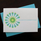 Mod Holiday Letterpress Cards ($5)