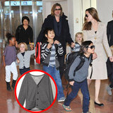 Knox Jolie-Pitt's Dapper Sweater