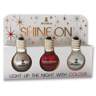 Light Bulb Nail Polishes For Holiday 2011