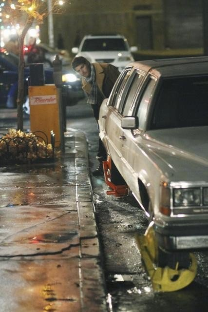Things are looking bad for Max too when his car gets booted.  Photo copyright 2011 ABC, Inc.