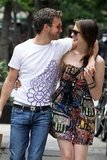 Adam Shulman put his arm around Anne Hathaway on their way home from a lunch date in June 2010 in NYC.