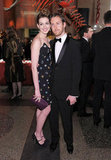 Anne Hathaway and Adam Shulman attended the American Museum of Natural History's Museum Gala in November 2010.