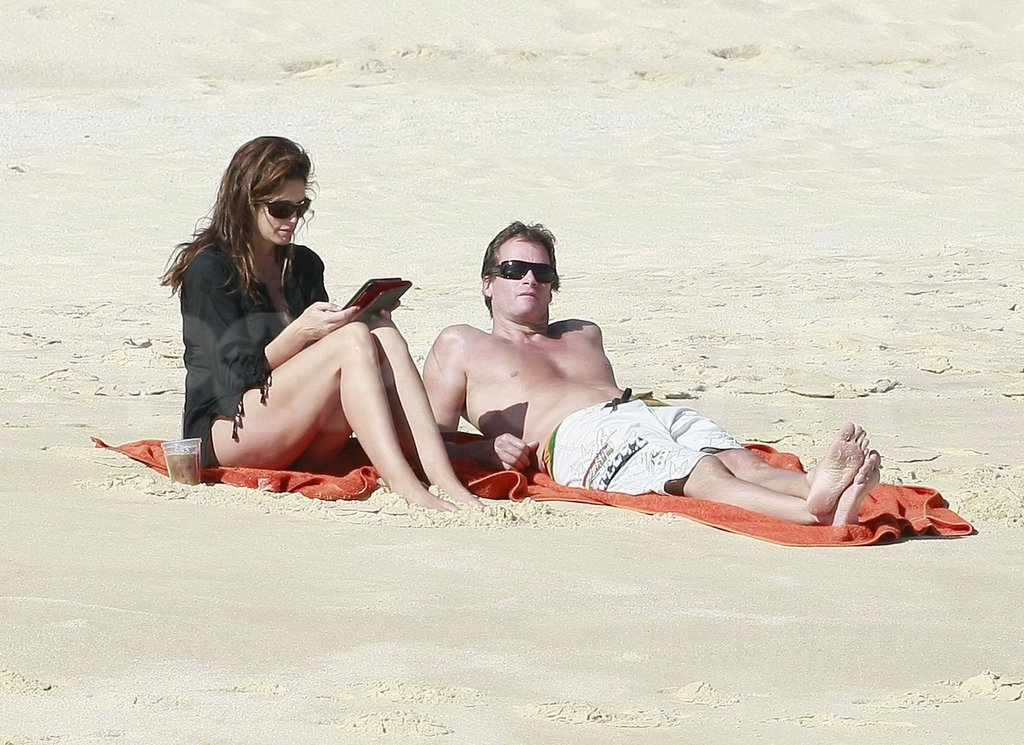 Cindy Crawford took a Thanksgiving vacation with Rande Gerber.