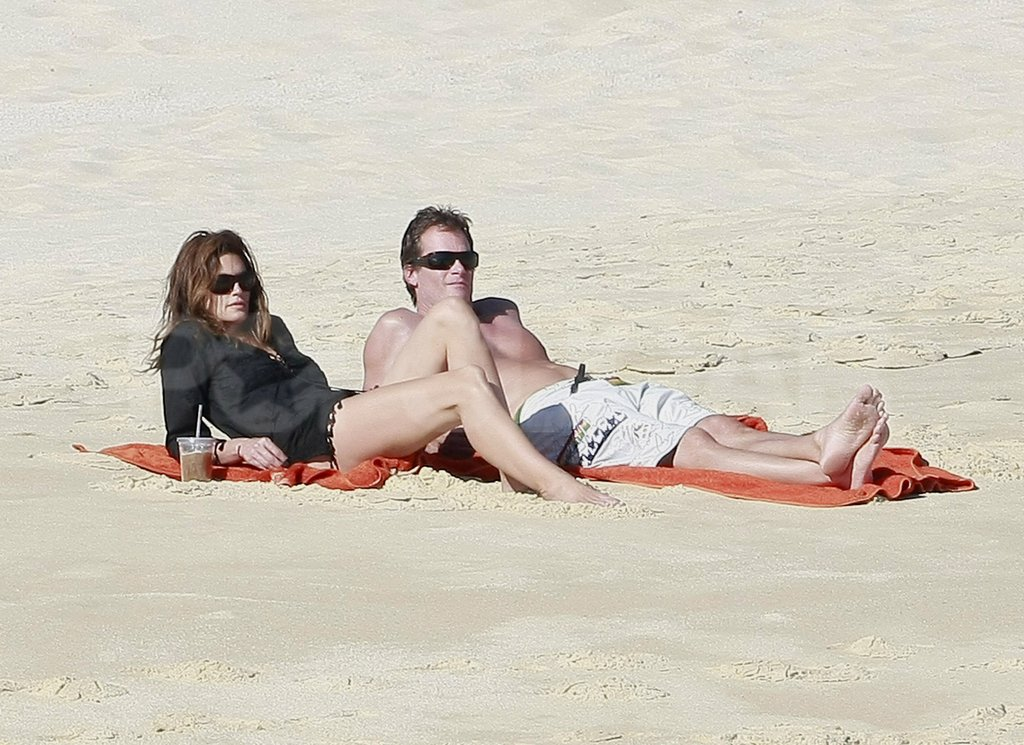 Rande Gerber and Cindy Crawford snuck away to Mexico for the weekend.