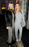 Pals Kate Moss and Stella McCartney stepped out for the fashion celebration.