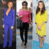 Celebrities Wearing Bright Colors Winter 2011