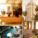 Jennifer Aniston and Justin Theroux Sunset Tower Hotel