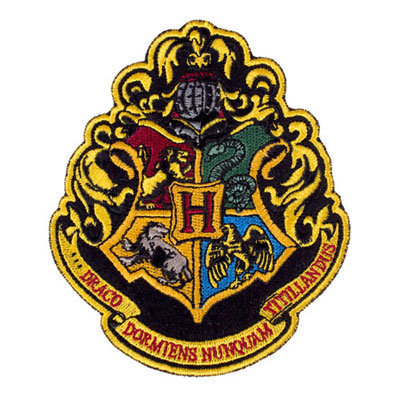 Harry Potter Hogwarts Crest Patch ($8)
