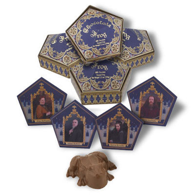 Chocolate Frogs 4-Pack ($50)