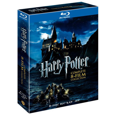 Harry Potter: The Complete Eight-Film Collection Blu-Ray Disc Set ($59, originally $140)