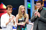 Amanda Seyfried was shocked by Justin Timberlake's recorder skills.