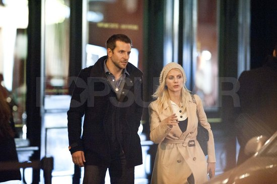 Bradley Cooper and Melanie Laurent go to dinner in Paris.