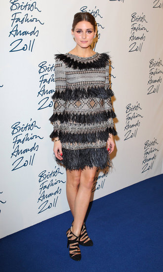 Olivia Palermo was across the pond for the British Fashion Awards.