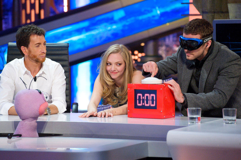 Justin Timberlake and Amanda Seyfried Get Goofy on El Hormiguero