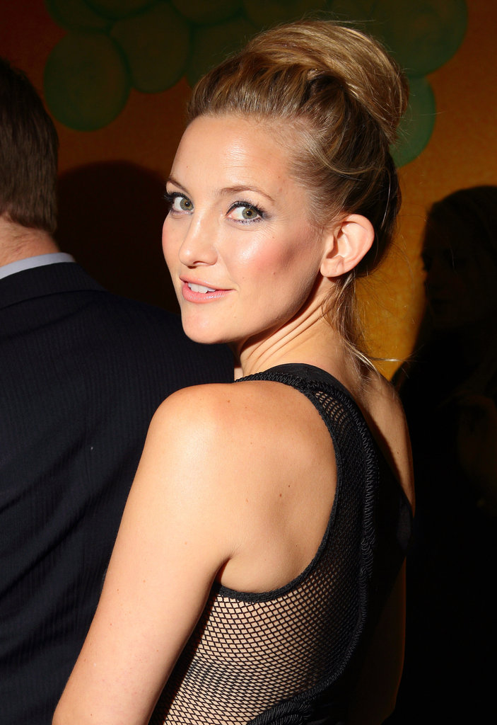 Kate Hudson gave a darling look back at the camera.