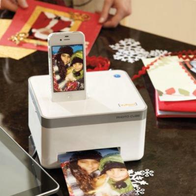 Compact Photo Cube Printer