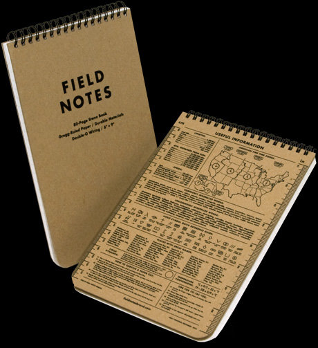 Field Notes Steno Book ($10)