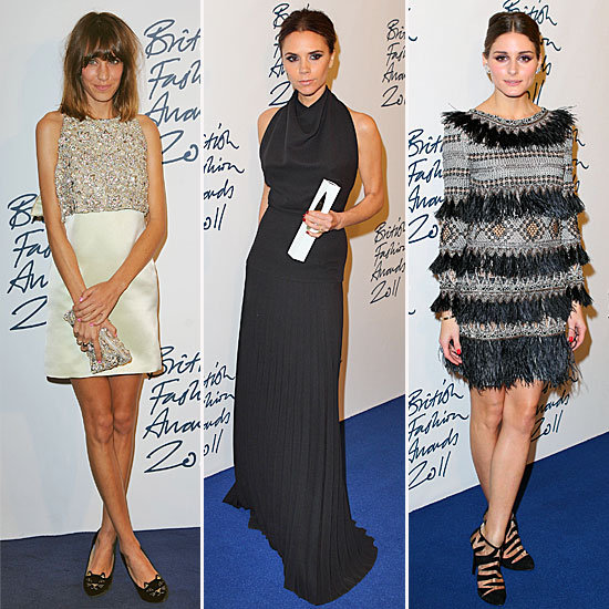 The Style Crowd Glams Up For the 2011 British Fashion Awards