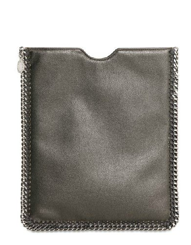 Fortunately, Stella McCartney's goods are as eco-friendly as they are chic — this iPad case is sure to please.  Stella McCartney Metallic Eco Leather iPad Case ($415)