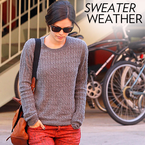 Celebrity Lookbook: Winter Knits